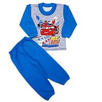 Детская пижама «Тачки» с начесом