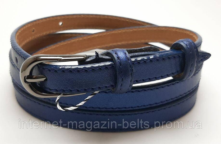 Ремінь шкіряний жіночій Fs.Style 1501SD9 Синій