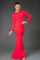 """Нарядное вечернее платье в пол """"Liza"""" с вырезами на спине (4 цвета)"""