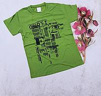 Подростковая трикотажная футболка ORLDS для мальчиков 10-14 лет,цвет уточняйте при заказе, фото 1