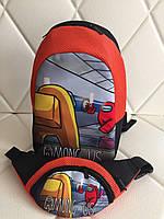 Детский рюкзак с принтом амонг ас AMONG US