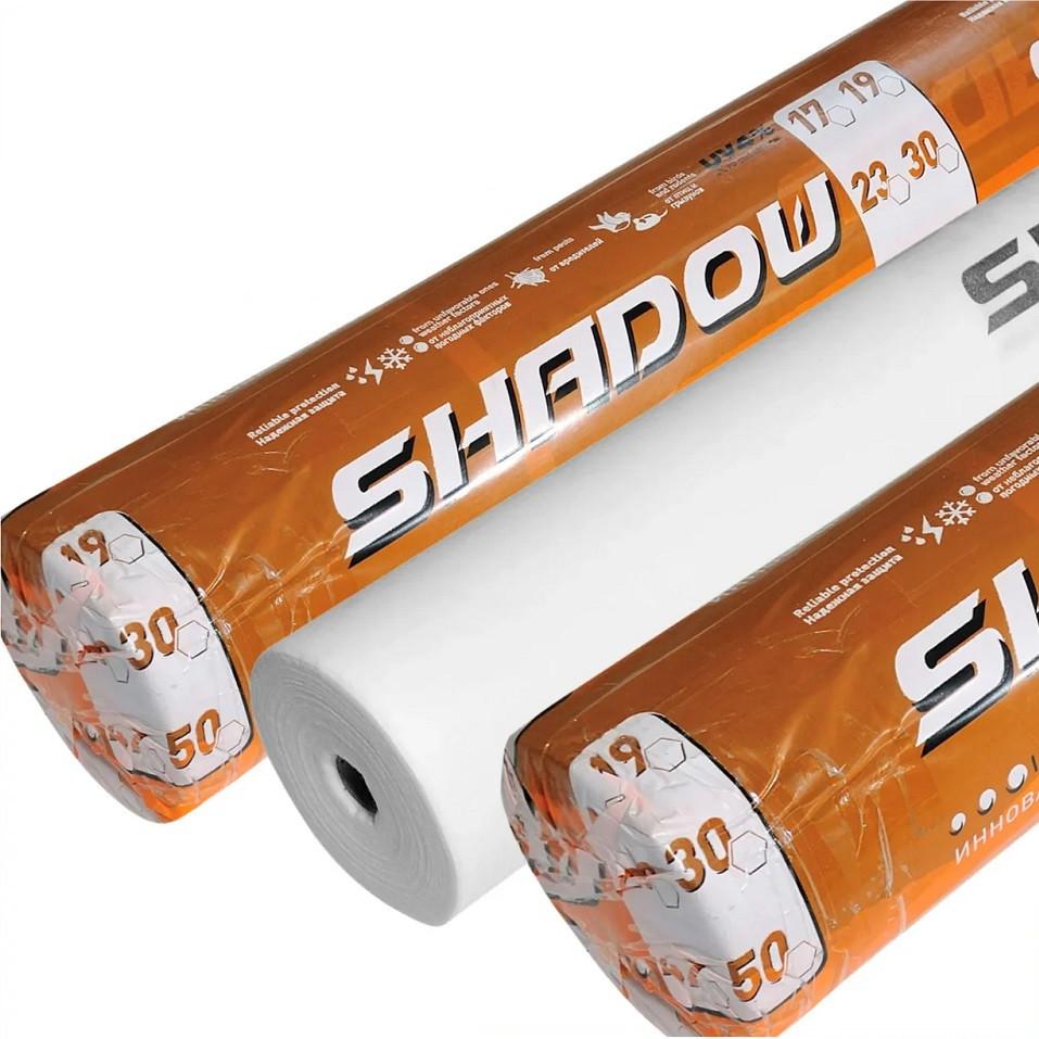 Агроволокно біле 23 г/м2 10,5х100м Shadow Чехія 4% для теплиць, парників грунту (Агроволокно біле в рулонах)