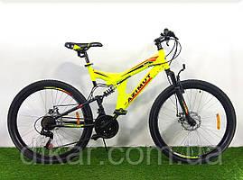 Горный велосипед Azimut Power 26 GD Желтый