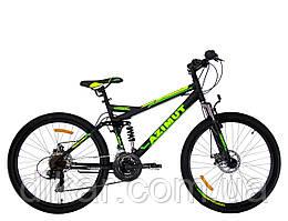 Горный велосипед Azimut Race 26 GD+ черно-желтый