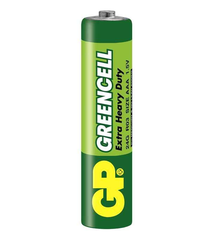 Батарейка GP Greencell AAA R03