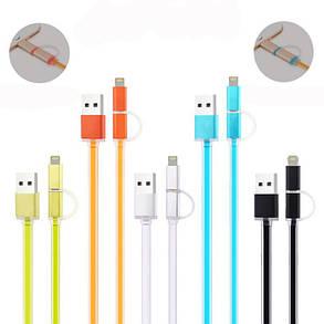 Універсальний USB-кабель 2 в 1, фото 2