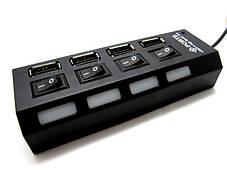 Концентратор 4 порта, USB (HUB), фото 2