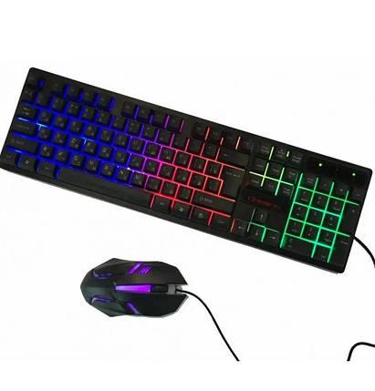 Клавіатура Keyboard HK-6300TZ з мишкою, фото 2