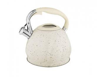 Чайник Edenberg зі свистком 3 л Бежевий (EB1904BG)