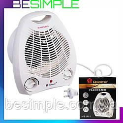 Тепловентилятор Domotec MS 5901 / Електро обігрівач