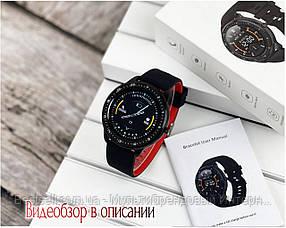 Смарт годинники наручні Modfit Z06 Black-Red / смарт годинник модфит
