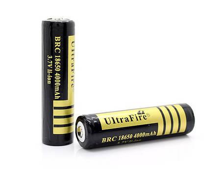 Акумулятор BRC 18650 4000mAh з захистом(з реальною ємністю), фото 2