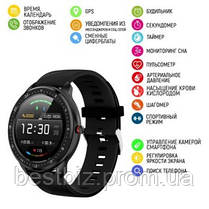 Смарт часы наручные  Modfit Z06 All Black / смарт часы модфит, фото 3