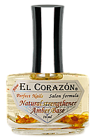 "El Corazon Perfect Nails Выравнивающая база с янтарной кислотой ""Natural strengthener Amber Base"" № 436"