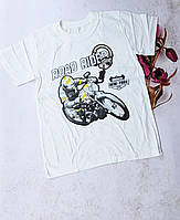 Подростковая трикотажная футболка ROAD RIDER для мальчиков 10-14 лет,цвет уточняйте при заказе, фото 1