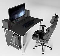 Игровой, Компьютерный, Письменный, Офисный стол ZET-3, 140 см, фото 1