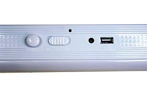 Акумуляторний ліхтар з сонячною панеллю GD-1040S, фото 2