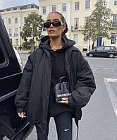 Жіноча демісезонна куртка на силіконі, фото 1