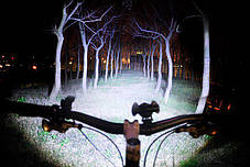 Велосипедний ліхтар BL-31176+2COB, фото 2