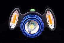 Велосипедний ліхтар BL-31176+2COB, фото 3