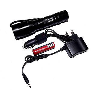 Світлодіодний ліхтар Т6-104, фото 2