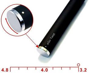 Електронна сигарета EGO-C Twist 1100 mAh, фото 2