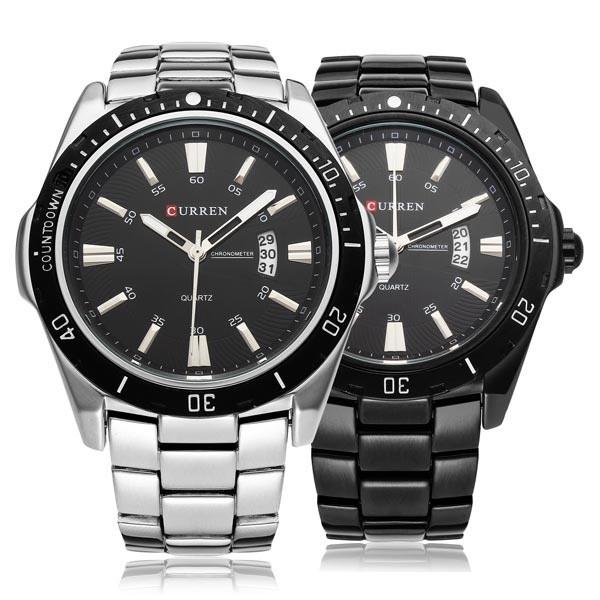 Чоловічі наручні годинники Curren 8110