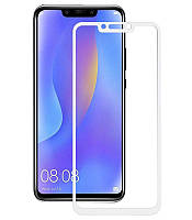 Защитное стекло 3D Perfect Protection Full Glue Lion для Huawei P Smart Plus, White