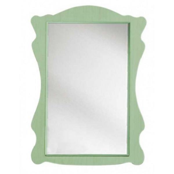 Зеркало в детскую комнату из ДСП Селина Ольха зеленая Світ меблів