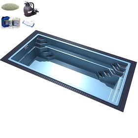 Комплекты оборудования для стекловолоконных бассейнов