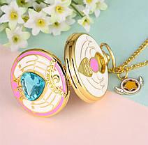 Карманные часы на цепочке Сакура отличный подарок, фото 2