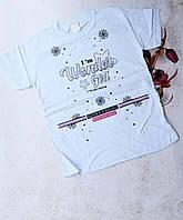 Подростковая трикотажная футболка WONDER GIRL для девочек 10-14 лет,цвет уточняйте при заказе, фото 1