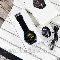 Смарт часы наручные  Modfit Z08S Black-Silver / смарт часы модфит, фото 3