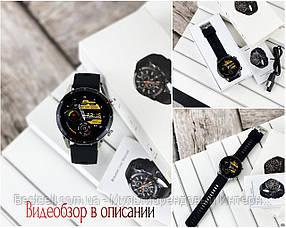 Смарт годинники наручні Modfit Z08S Black-Silver / смарт годинник модфит