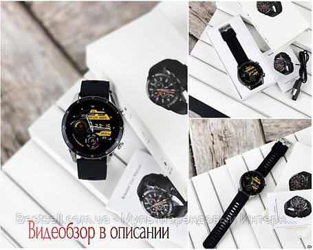 Смарт часы наручные  Modfit Z08S Black-Silver / смарт часы модфит, фото 2