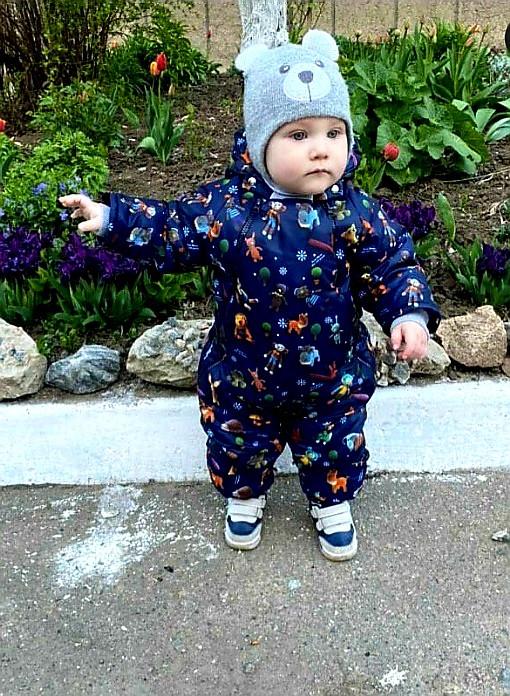 Купить детский осенне-весенний комбинезон для мальчика