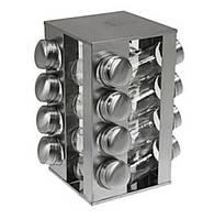 Набор баночек для специй Benson BN-175 из 16 сосудов на подставке КОД: BN-175-16