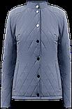 Короткая женская куртка Finn Flare A19-11012-105 темно-голубая, фото 6