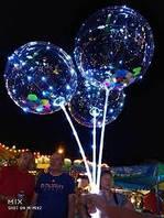 Шар бобо LED светящийся шарик на палочке, фото 1