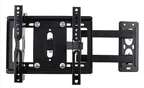 Кріплення для телевізора настінне поворотне Cantilever Mount V-STAR 5068 14-40 дюймів Чорний КОД: 101099