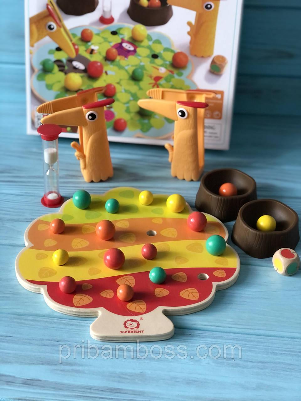 Розвиваюча гра з щипцями Збери яблука Top Bright