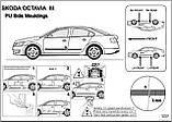 Молдинги на двері для Skoda Octavia III A7 5dr Liftback 6.2013-2.2017, фото 7