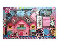 Домик ЛОЛ раскладной, 1 кукла, мебель, в коробке