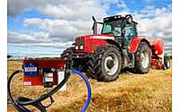 Для заправки сельхоз техники топливом Раздаточная колонка 220В 60л/мин с механическим счетчиком