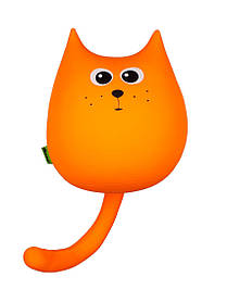 М'яка іграшка антистрес Кіт міні Вогник Expetro КОД: A171