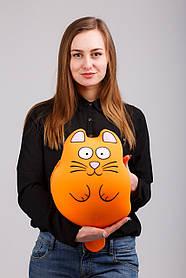 М'яка іграшка муфта-антистрес Ручної кіт Рудий Expetro КОД: A212