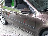 Молдинги на двери для Skoda Octavia III A7 6.2013-2.2020, фото 7