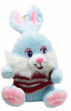 """Плюшевая игрушка """"Кроля"""", голубой 2391-19"""