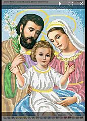 Бср 3031 Схема для вишивки бісером Святе Сімейство.