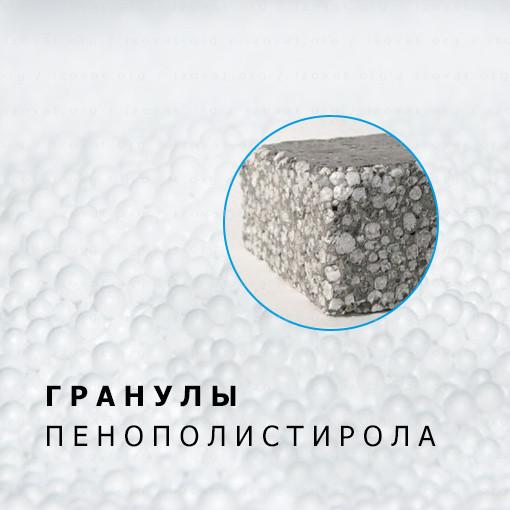 Пенополистирольные гранулы для стяжки